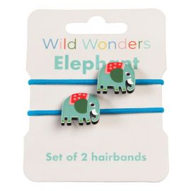 Rex London Wild Wonders Hair Bands (Elephant)