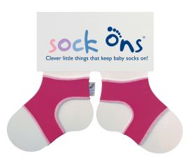 Sock Ons (Fuchsia)