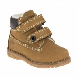 Primigi Tan Velcro boots