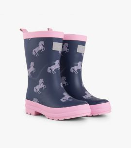 Hatley Horse Silhouettes Wellies