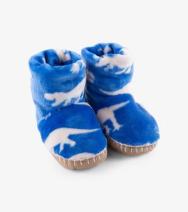 Hatley Roaming Dinos Fleece Slippers