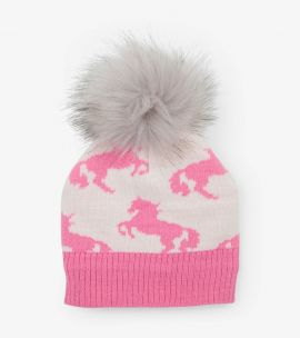 Hatley Winter Hat (Playful Horses)