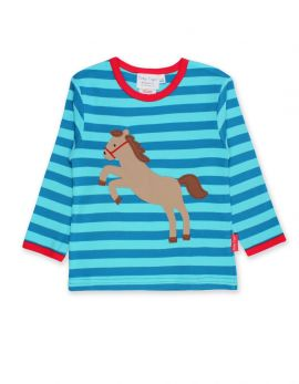 Toby tiger Applique T-Shirt (Jumping Horse)
