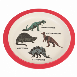 Rex London Bamboo Plate (Prehistoric Land)
