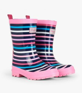 Hatley Wellies (Colourful Stripes)