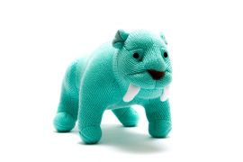 Toy - blue Sabre Tooth Tiger