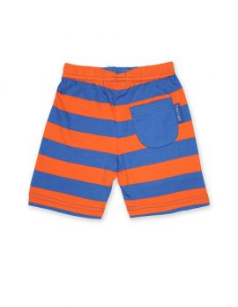 Toby Tiger Shorts (orange/blue stripe)