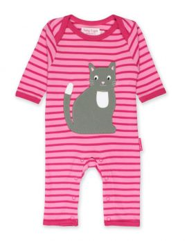 Toby tiger Applique Sleepsuit (kitten)