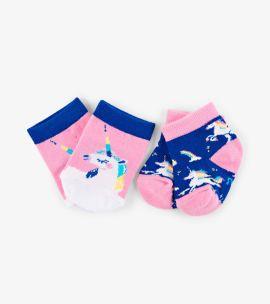 Hatley Baby Socks (rainbow unicorns)
