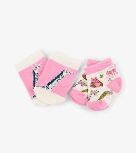 Hatley Baby Socks (pretty animal safari)