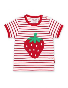 Toby Tiger T-Shirt (applique strawberry)