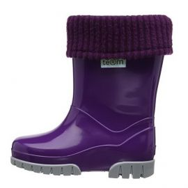 Term Wellies (purple)
