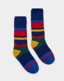 Joules Fluffy Socks - Multistripe