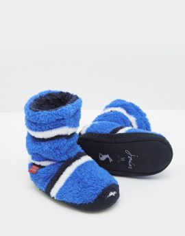 Joules Padabout Slippers (Dazzling Blue)