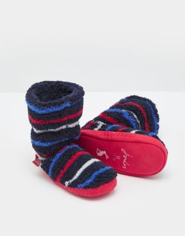 Joules Padabout Slippers (Blue Stripe)