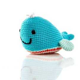 Toy - Blue Whale Rattle